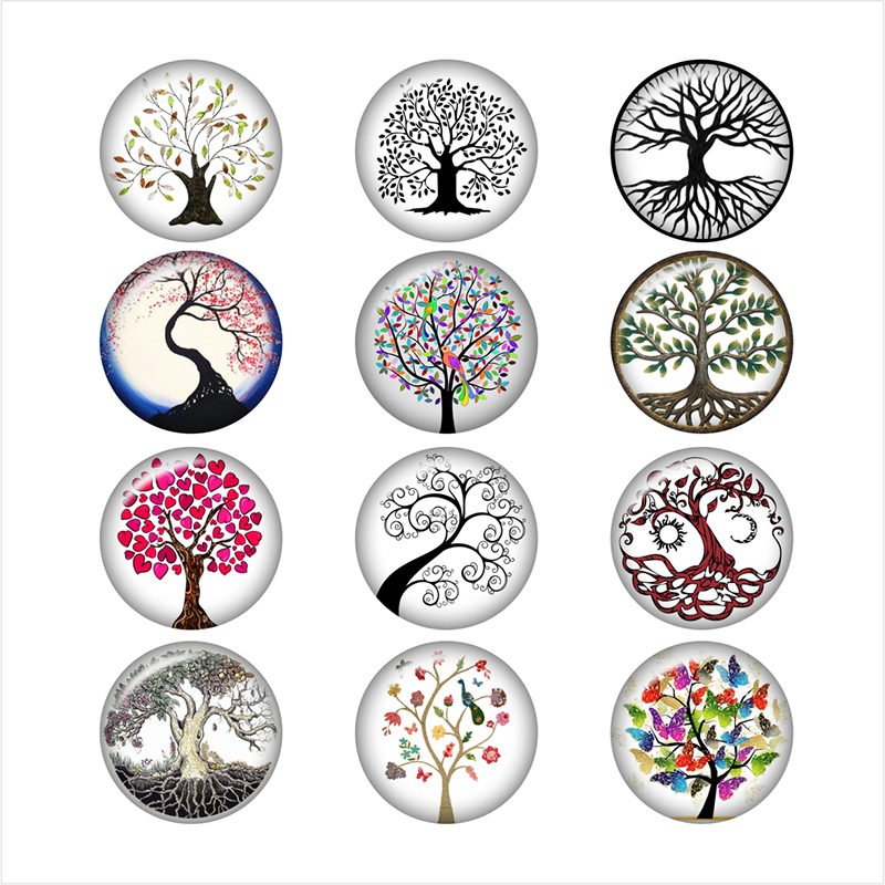 tree of life  glass snap button jewelry   photo print  Phone Holder    DA1022