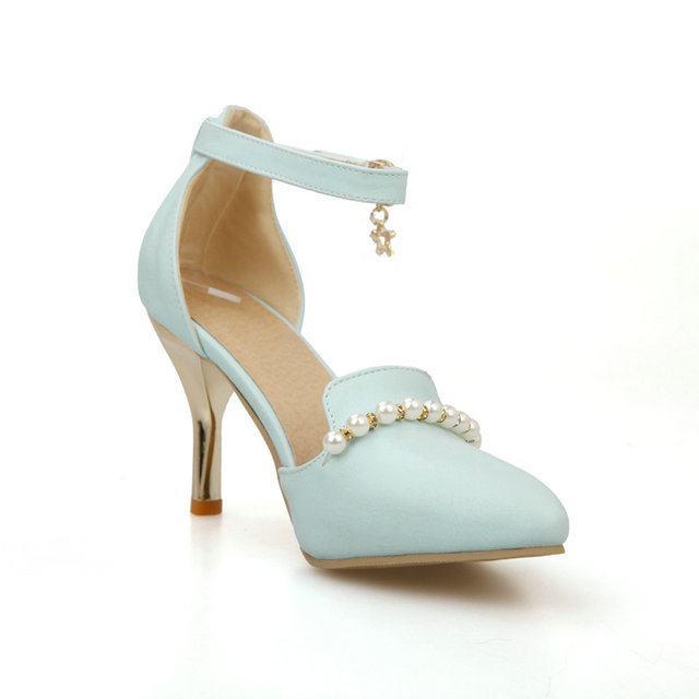 Aliexpress.com : Buy Sweet candy colors classic ankle strap shoes ...