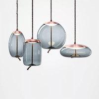 Скандинавские Современные Простые подвесные светильники Ресторан Бар прикроватная красивая декоративная веревка стеклянный подвесной св