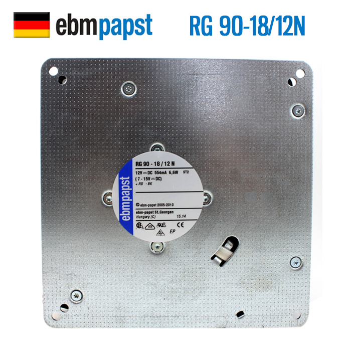 New Origianl ebm papst RG90-18/12N 135 * 38mm 12V 554mA  Blower Cooling Fan new original german ebm papst rl90 18 56 ac220v 20w centrifugal blower cooling fan