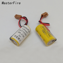 5pcs/lot New Version 100% Original For panasonic BR-2/3A 3V PLC Lithium Battery Batteries With Two-hole Plug Free Shipping free shipping 5pcs lot isl6566crz isl6566cr isl6566 laptop p new original