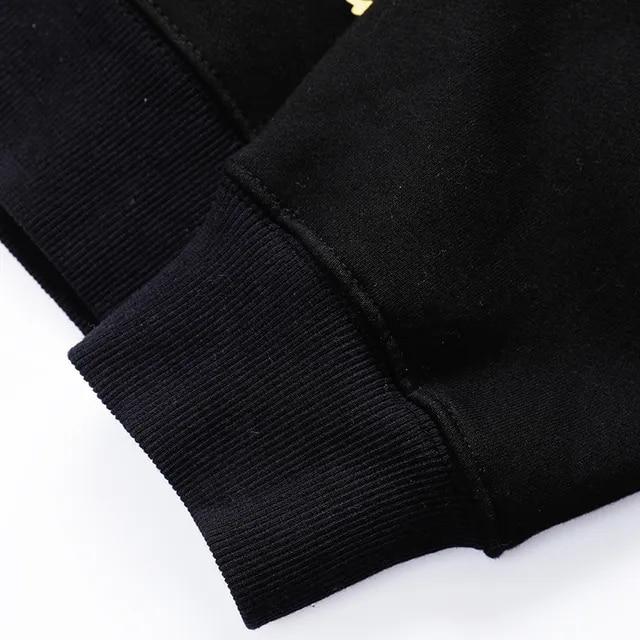 2019 Harajuku Graffiti Hoodie Sweatshirt Men Hip Hop Hooded Pullover Streetwear Hipster Print Autumn Fashion Loose Hoodie Cotton