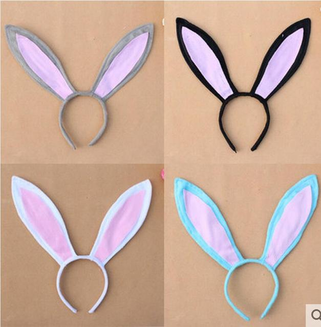 Free shipping colorful children adult easter gift decoration big free shipping colorful children adult easter gift decoration big rabbit bunny ear headband costume party hairband negle Images