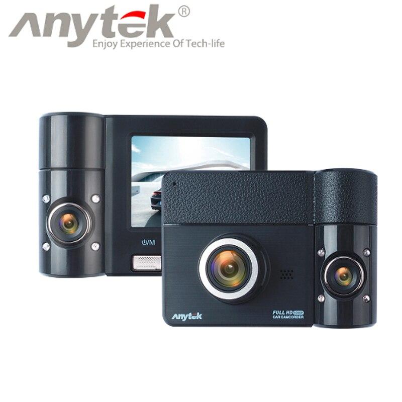 Original Anytek@ black B60 270 Degree Lens Rotation Rear View Camera Driving Support Function Car DVR Dashcam Parking Monitoring