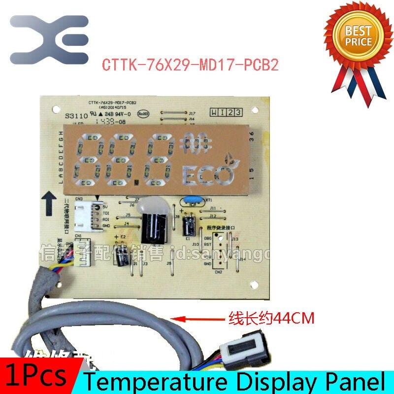 Температура Дисплей Панель Запчасти для кондиционера Air сигнала CTTK-76X29-MD17-PCB2
