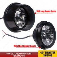 LED Front Fender Light Rear Mount Led work lights 40W RE19080 AR85262 70249146 70249147 LED Inner Fender led tractor Light x1pc