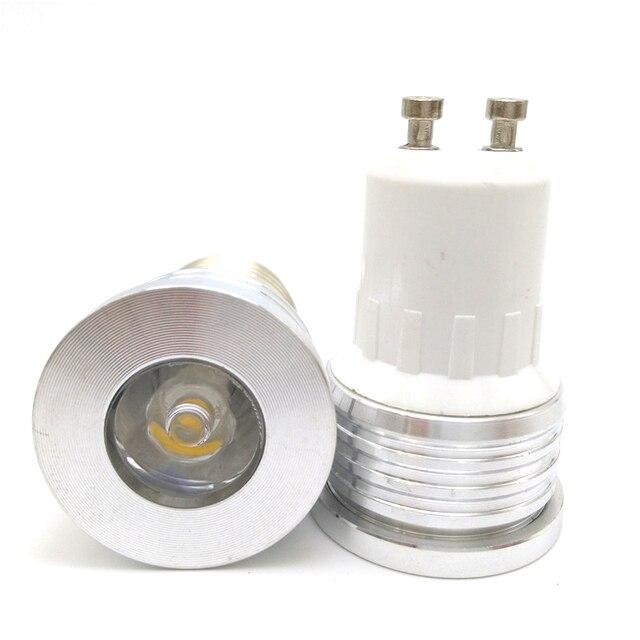 50 teile/los LED lampe licht Dimmbar 1 Watt 3 Watt mini led birne ...