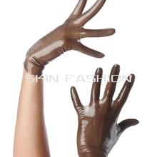 Латексные наручные короткие рукавицы унисекс