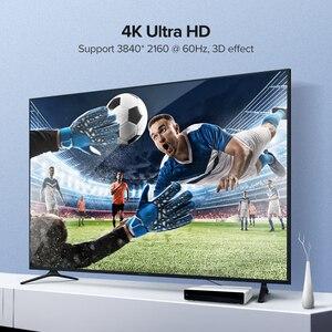 Image 2 - Ugreen Cable HDMI 4K 2,0 para Apple TV PS4, conmutador divisor, Cable HDMI a HDMI, Cable de Audio de vídeo de 60Hz, Cable de Cabo HDMI 4K