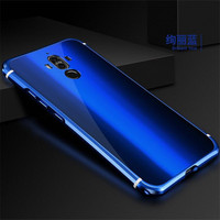 Luxury Ultra Slim Full Protection Case For Huawei Mate 9 Pro Mirror Tempered Glass Cover Plate