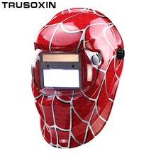 Солнечная Автоматическая затемнение сварочный шлем/Сварочная маска/сварочные очки/маска для глаз/затеняющие очки для TIG MMA MIG сварочный аппарат