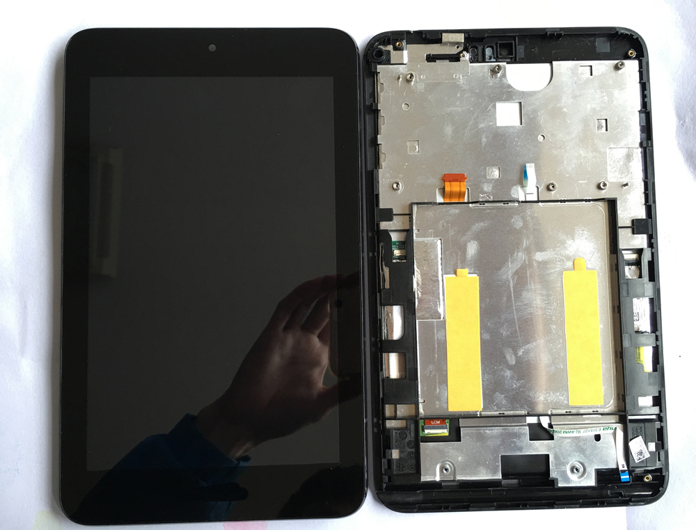 LCD Display Panel Screen Monitor Touch Screen Digitizer Sensor Glass with frame For ASUS VivoTab Note 8 M80TA M80T