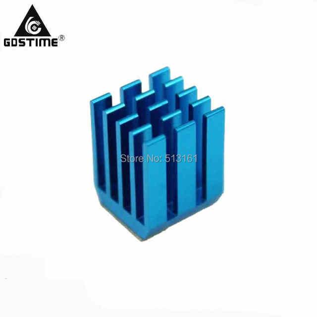 10 шт. Gdstime алюминий мини IC чипсет охлаждения Cooler Радиатор радиаторы 9x9x12 мм