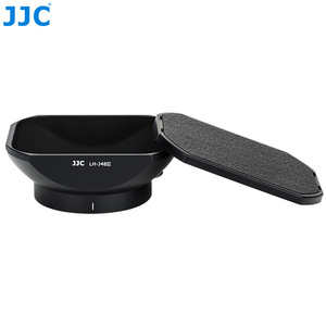 Image 5 - JJC LH J48II appareil photo noir pare soleil avec capuchon pour Olympus M. Zuiko Digital ED 12mm f/2.0 objectif remplace Olympus LH 48