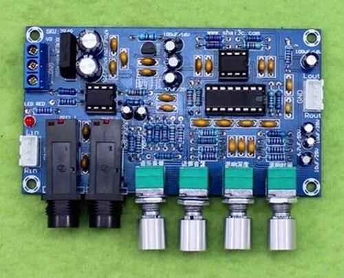 Free Shipping!!! Microphone Amplifier Board / K Song Reverberation Board / Singing Power Amplifier Board