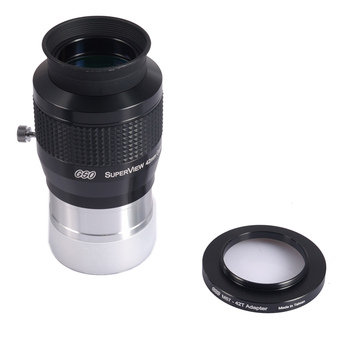 "GSO 2"" Superview 30MM Wide Field 68-degree eyepiece include a 57-42 adapter"