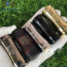 Mech mod kit mecânico mod, cigarro eletrônico mech mod 18350 bateria de latão 25mm vapor vaporizador vaporizador vs sub dois kit mod