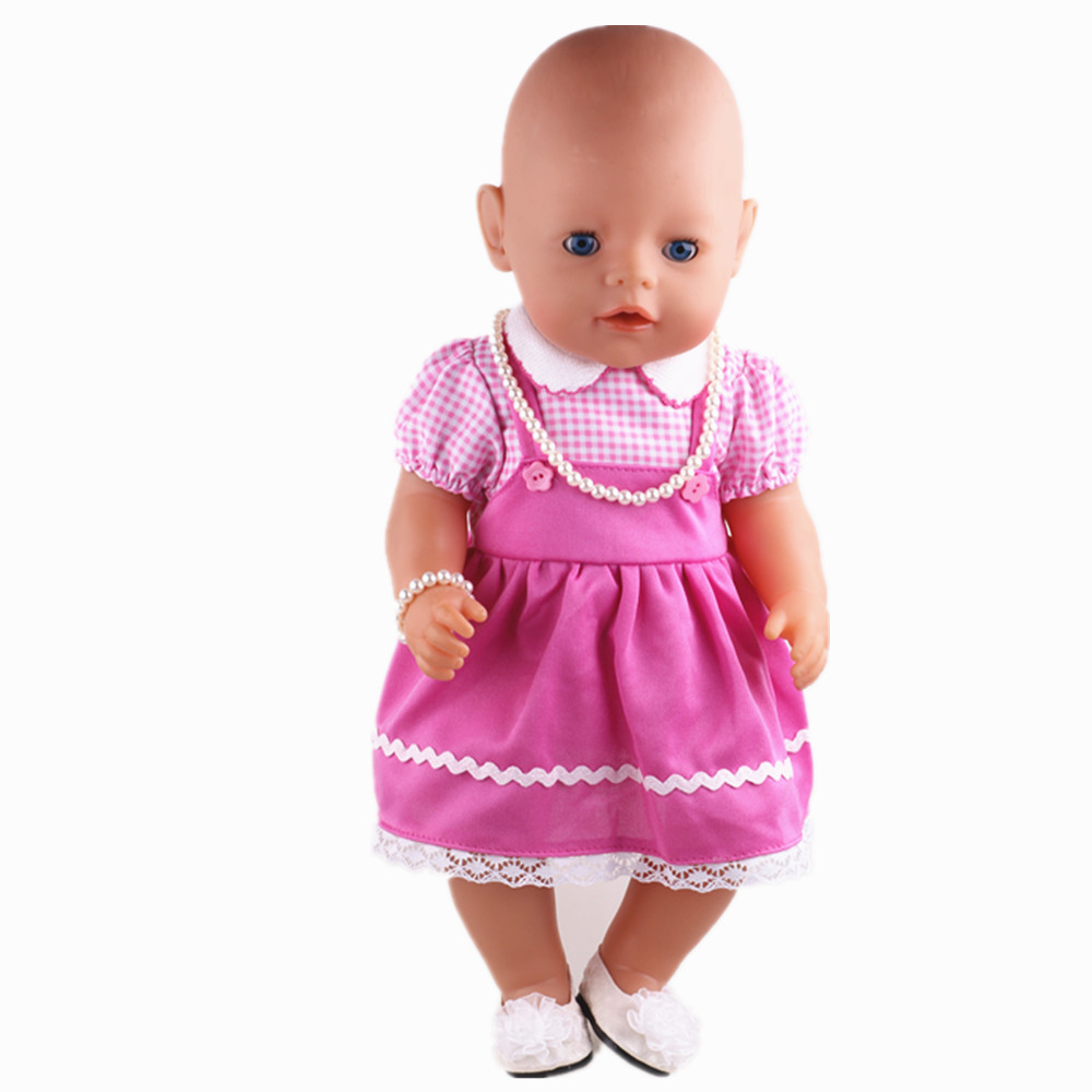 2016 new doll clothes wear fit 43cm baby born zapf b602 for american girl doll children best. Black Bedroom Furniture Sets. Home Design Ideas