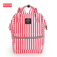 Backpack Teenager Vintage Casual Solid School Bags Fashion Women School Backpack Oxford Shoulder Bag Multi Color
