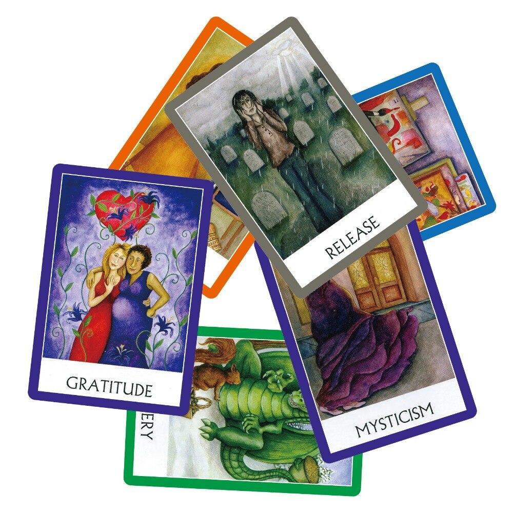 Neue meditation yogi oracle karten deck, 49 karten, voll Englisch lesen energien tarot karte spiel brettspiel