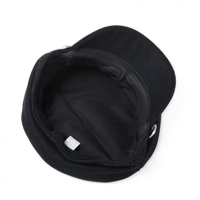 COKK Winter Hats For Women Winter Cap Wool Hat Female Button Baseball Cap Sun Visor Hat Gorras Casquette Black Fall Boina Bone