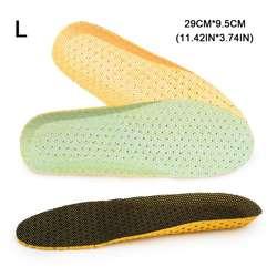 1 пара стельки для обуви EVA мягкие дышащие спортивные дезодорант для обуви стелька для бега Подушка вставка для облегчения боли 35-46