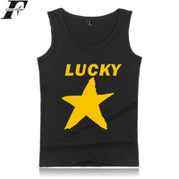 LUCKYFRIDAYF BTS LUCKY STAR Hip Hop Good Style Tank Top Men Women Summer Sleeveless Workout Casual