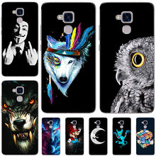 45 styles Case For Huawei Honor 5C 5 C Back Cover For Huawei Honor 5c 5C hard Phone Shells for Huawei Honor 7 Lite GT3 Fundas(China)