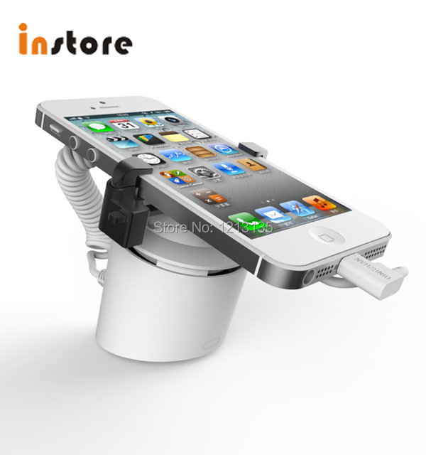 Si412 Universal Mobile Security Alarm Stand Anti Theft Cellphones Charge Holder Kits In Retail Display