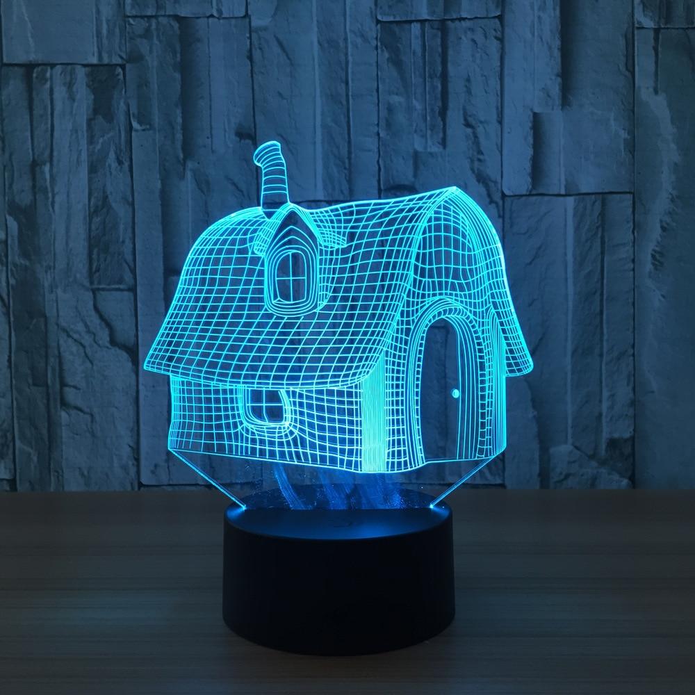 led lighting diy. artificial with led lights diy usb 3d lamp veilleuse enfant luminaria night light nightlight baby-in led from lighting