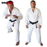 Top Quality Brazil Brazilian Jiu Jitsu Judo Gi Bjj Gi Classic Black Blue White Present White