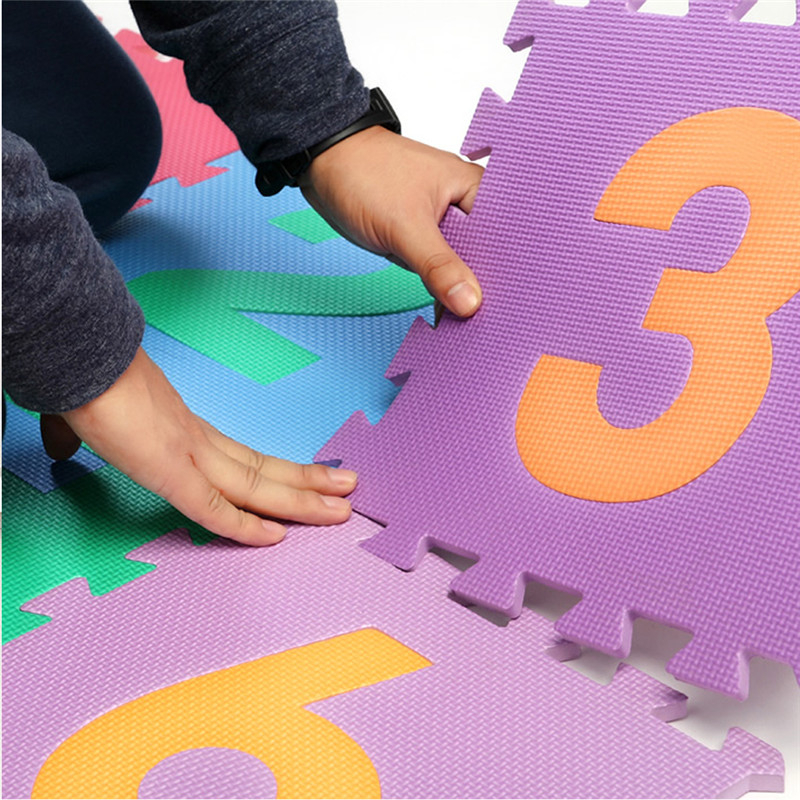 Meitoku-baby-EVA-foam-play-Puzzle-mat-Number-0-9-Interlocking-floor-matEach-30cmX30cmX1CM12-3