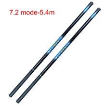 Newly Thread FRP Fishing Rod Telescopic Ultralight Hard Pole for Stream Freshwater Comfortable Durable Lightweight