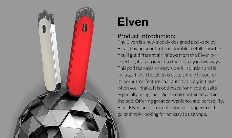 Eleaf Elven Pod kit with 360mAh Battery