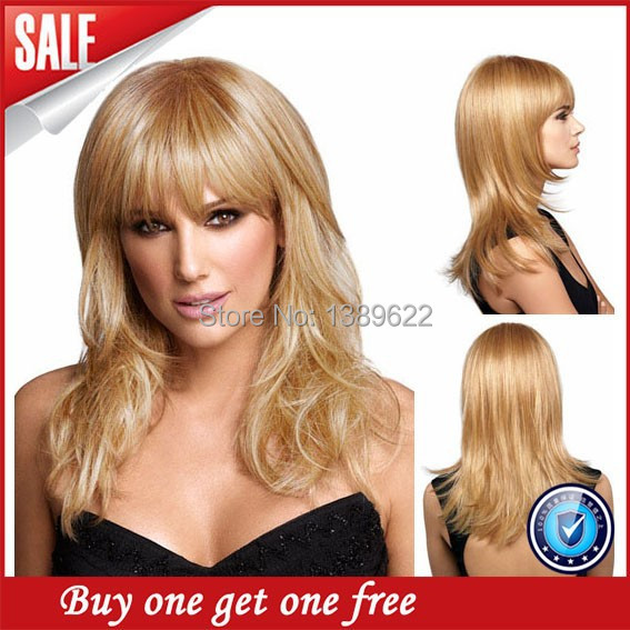 2016 Promotion 130 Lace Wigs Top Quality Customized Full Lace Human Wigs font b Virgin b