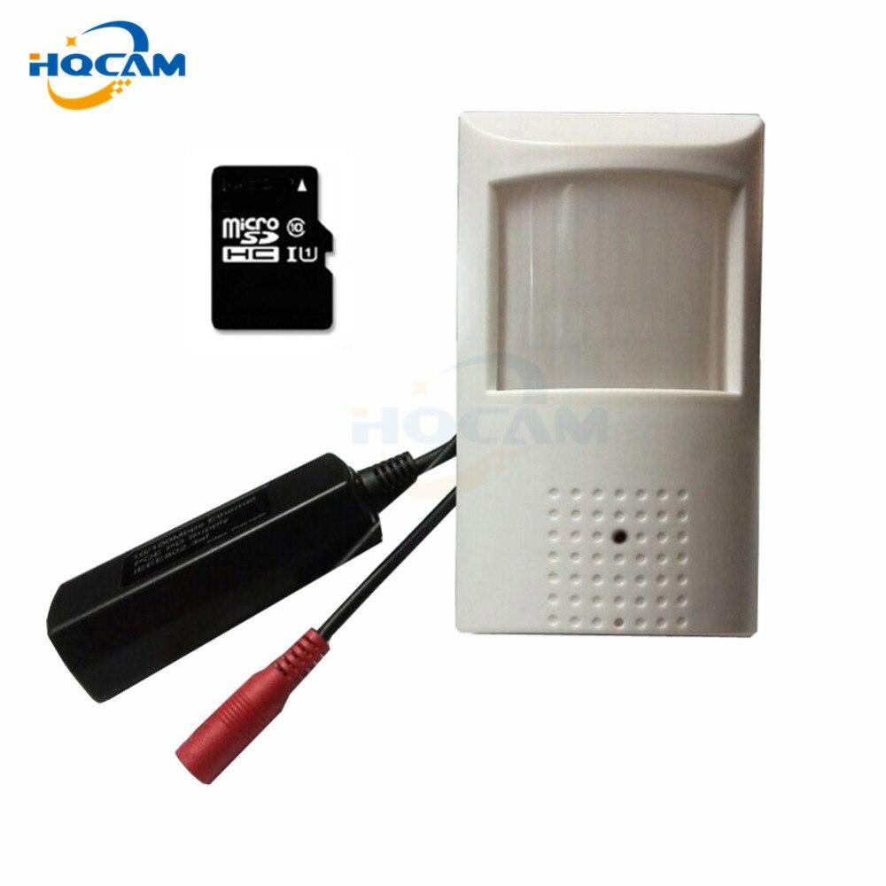 HQCAM POE 960P Audio Mini IP Camera 940nm Night Vision IR Camera IP Camera Indoor Security CCTV IP Camera Support TF card slot