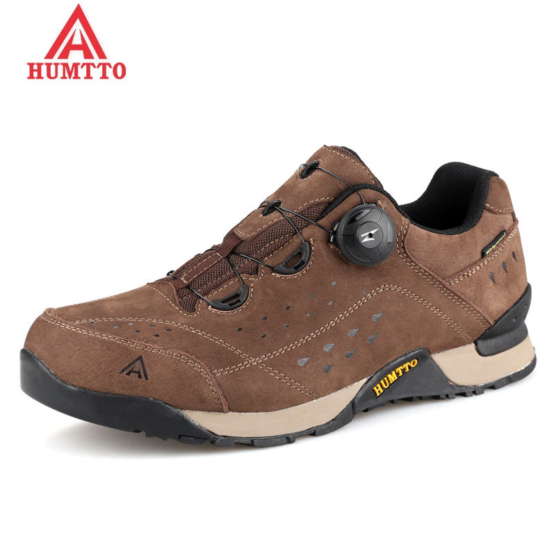 Limited Genuine Leather Hiking Shoes Winter Outdoor Trekking Boots Lace-Up Lightwei Climbing Mens Sneakers for Men Male Walking sale outdoor sport boots hiking shoes for men brand mens the walking boot climbing botas breathable lace up medium b m