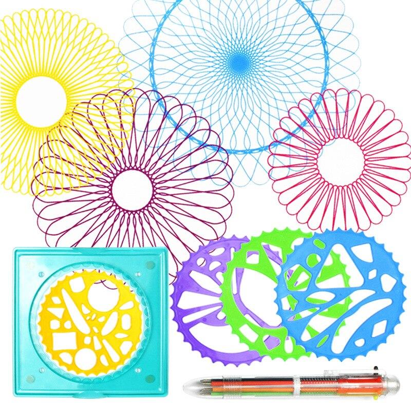 Fiore Righello Imposta Bambini Puzzle Modello di Disegno Del Fumetto Della Cancelleria GustoFiore Righello Imposta Bambini Puzzle Modello di Disegno Del Fumetto Della Cancelleria Gusto