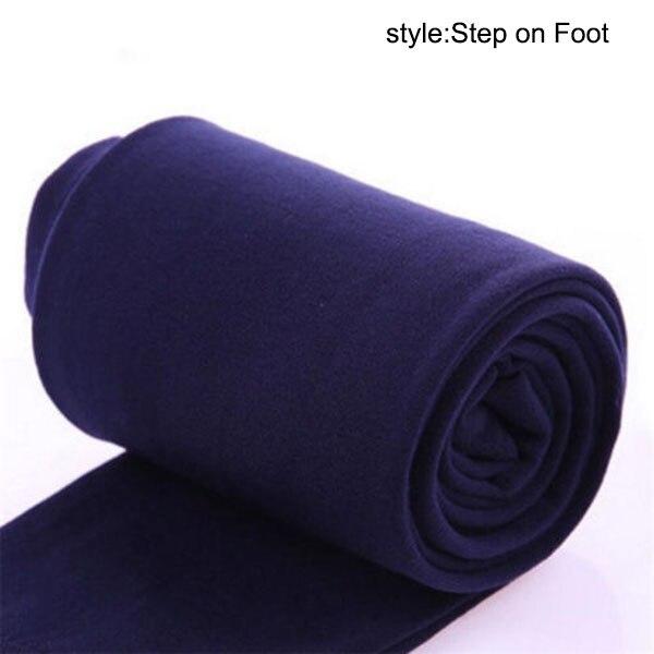 Women Heat Fleece Winter Stretchy Leggings Warm Fleece Lined Slim Thermal Pants -OPK
