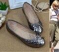 Zapatos de las mujeres pisos nuevos de la llegada de primavera y verano forma cómoda bajo tapa ocasional de Las Mujeres 520