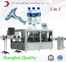 Butelka maszyna do napełniania oczyszczona woda do mycia do napełniania maszyny z windą 18-18-6 3 w 1 wypełniacz CE tanie tanio Ogólnego przeznaczenia High power 220 v Napięcia przekaźnika GZJ3 Uszczelnione