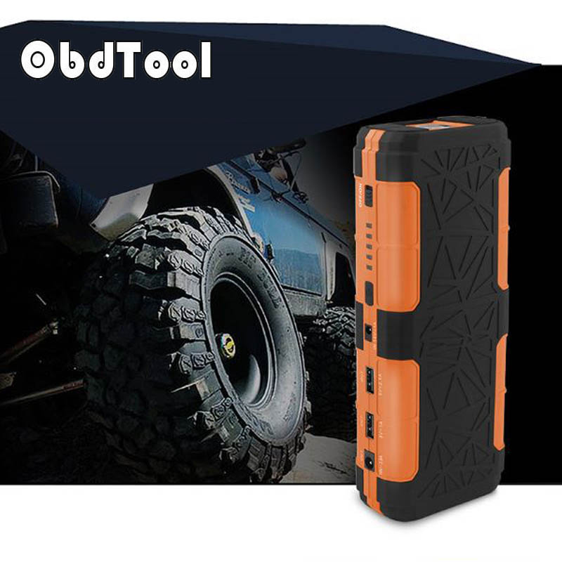 OBDTOOL Emergency 12V Car Battery Jump Starter Booster 14000mAh Power Bank 800A Peak Current Multi-function Car Jump Starter