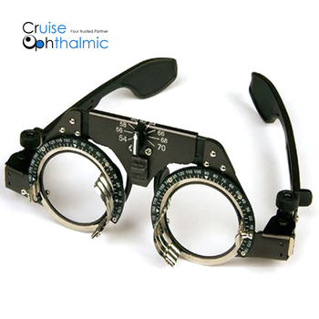 Optometric and Medical Universal Titanium Trial frame TF5470 PD adjustable   Trial Lens Frame   FDA Certificated trial frame