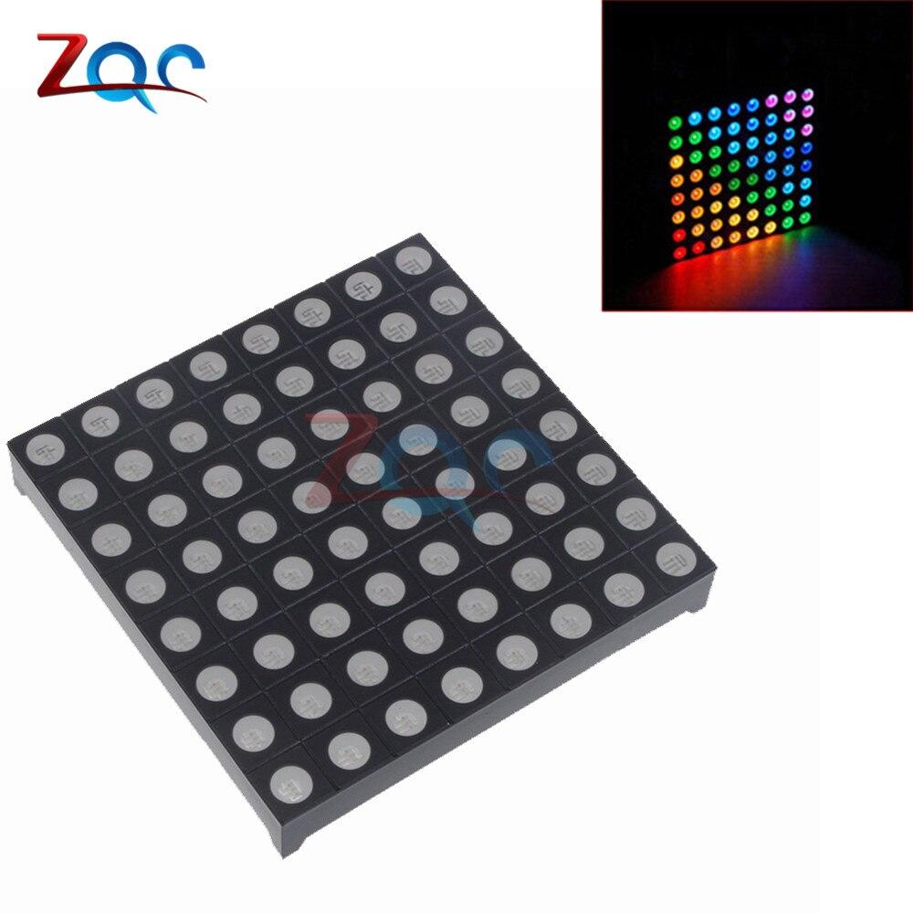 1pcs Dot Matrix LED Display 5mm 8x8 Red Common Anode 60x60mm 16-pin