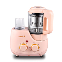 JBO Multi Baby Food Machine Mini Boiler Steamer Juicers Dry Grinding Blenders Food Mix Timing Mother's Choice