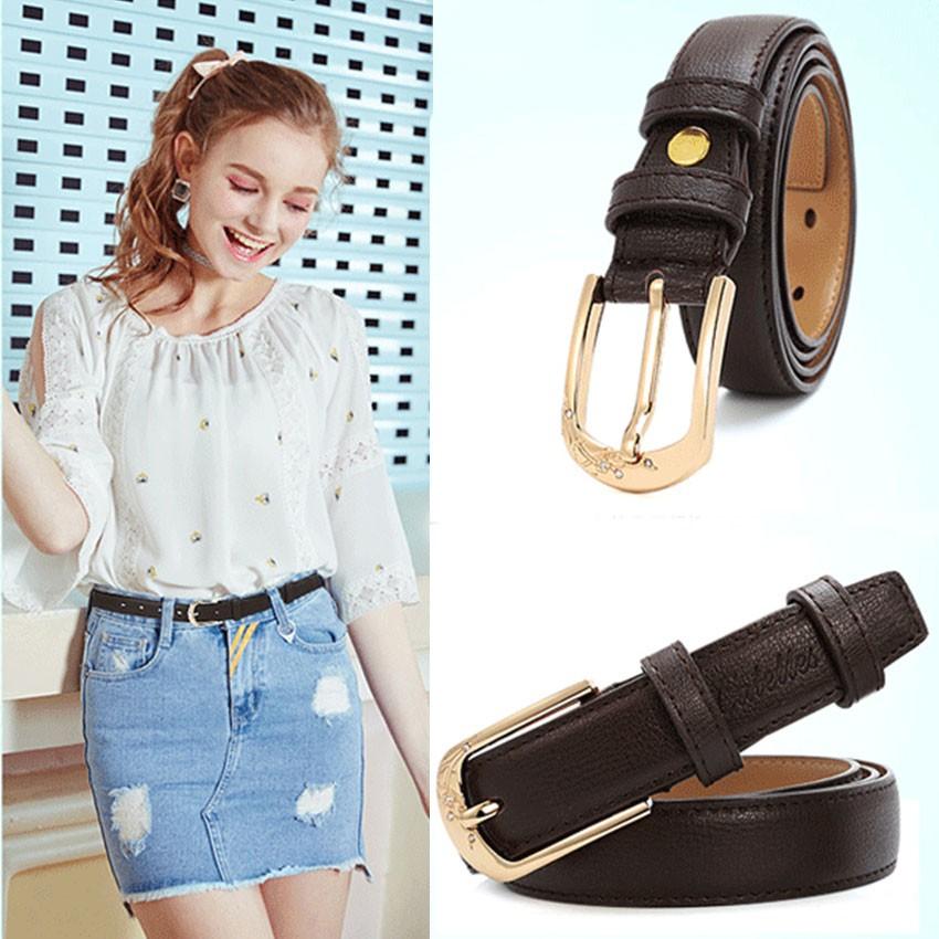CATELLES Leather Belts For Women Designer Female Fashion Belt High Quality Woman Cinturones Mujer Metal Buckle Ceinture Femme (5)