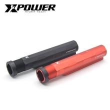 XP XPOWER buttstock stok borusu Için AEG Airsoft Paintball Avcılık Aksesuarları Ücretsiz kargo Yüksek Kalite CNC Alüminyum alaşım
