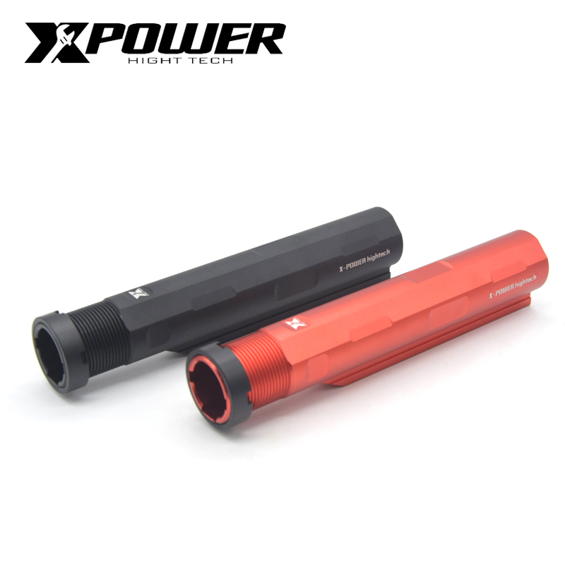 XPOWER Buttstock 6 Position Stock For AEG Airsoft Paintball Hunting Accessories Air Guns M4/M16