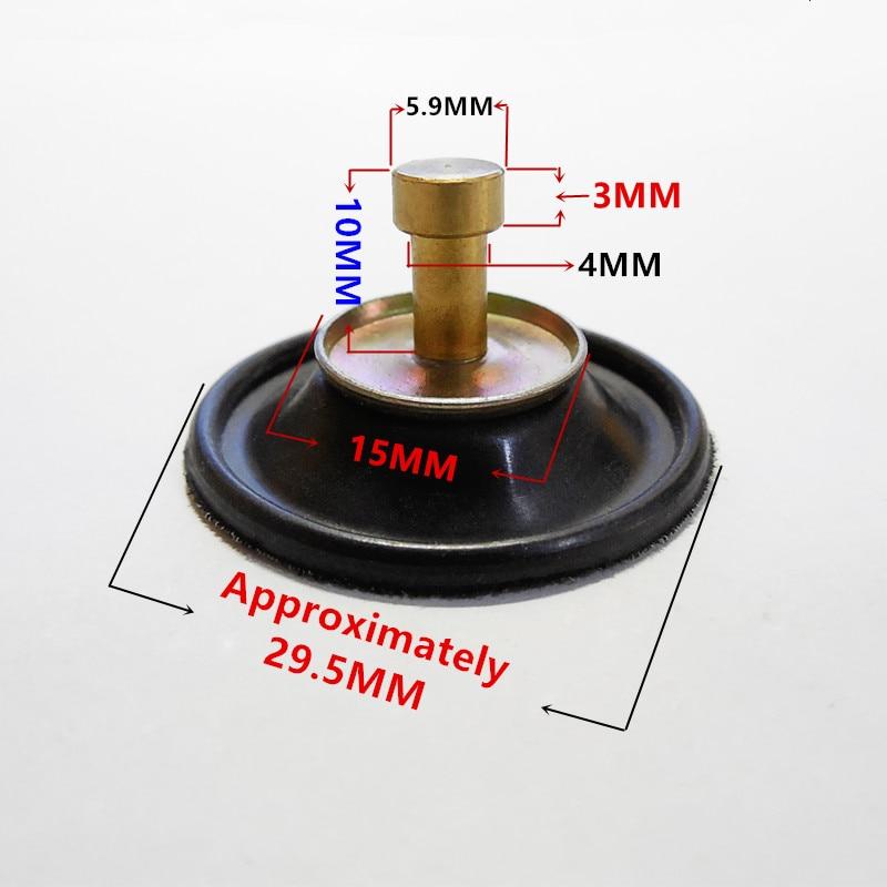 Tasuta saatmine PD24J karburaator GY6-125 ~ 150CC väike diafragma sulgeklapp (Coarse-telg) sobib neljataktilistele motorolleritele