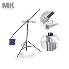 Selens Photo Studio SGL-400ZA Air-Cushioned & light Boom stand Double Duty w/ Sand Bag 400cm/13ft